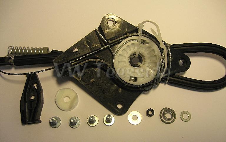 Volkswagen Beetle Convertible 2003-2010 Left Rear Window Regulator Repair Kit