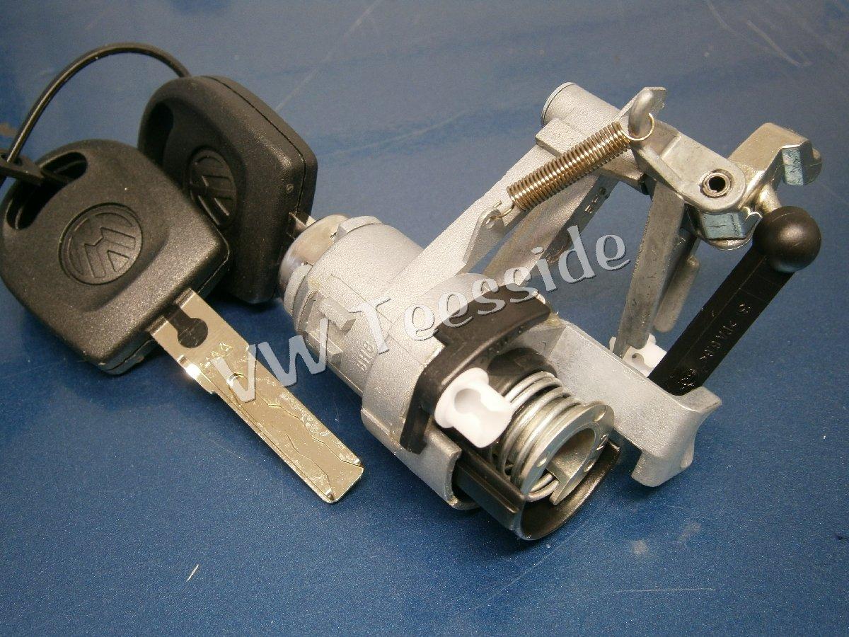 Genuine Vw Mk4 Golf Lupo Arosa Tailgate Rear Boot Lock