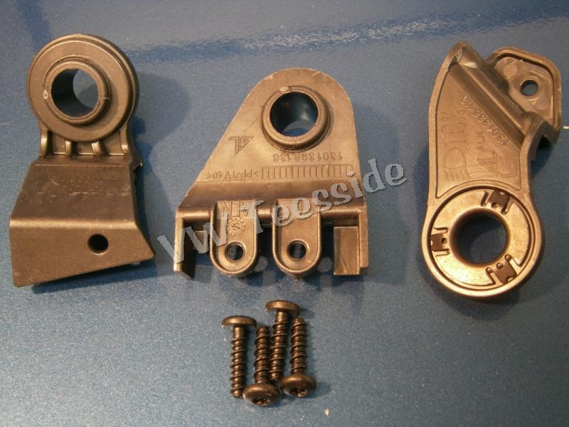 Seat Leon 1P Altea 5P Scheinwerfer Halter rechts oben Reparatursatz Halterung