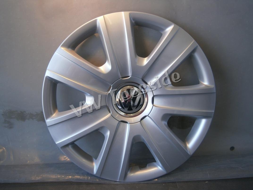 1 X Genuine Vw Polo 6r 2010 Onwards Trim For 14 Inch Steel Wheel 6r0601147 Wpu Ebay