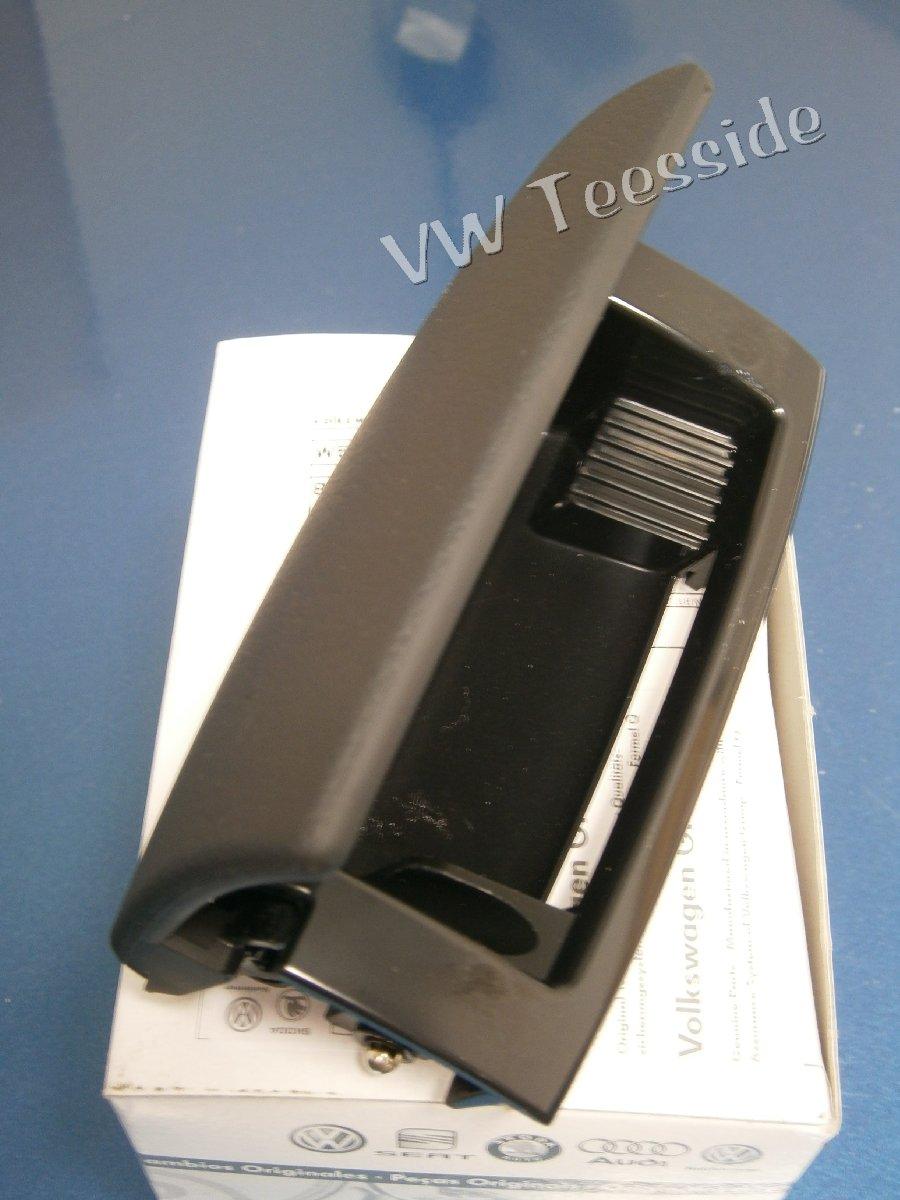 Audi Original A4 8E B6 B7 8H Trasero Consola Central Cenicero Negro